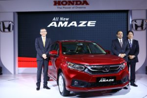 All-New 2nd Generation Honda Amaze launched today in India