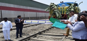 Krishnapatnam & CONCOR launches new rail service to Central India