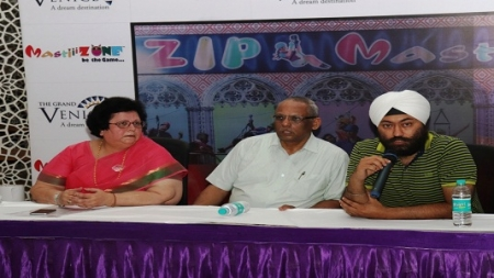 India's first 'In Mall Zipline ride' Launched in Grand Venice Mall
