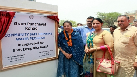 Jindal Stainless dedicates water ATM in Rohad