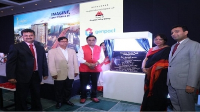 Genpact to Co-develop 'Imagine Tech Park' with Simplex Infra Technopark LLP