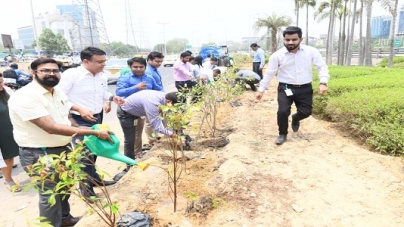 Indus Towers Organized Plantation Drive to commemorate World Environment Day