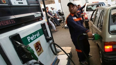 Overall reduction of one rupee in petrol prices in 10 days