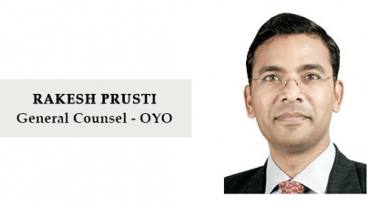 OYO appoints Rakesh Prusti as General Counsel