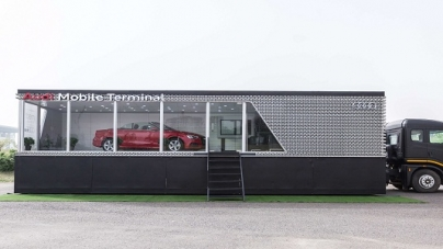 Audi rolls out Audi Mobile Terminal Tour 2018