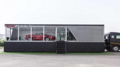 Audi rolls out Audi Mobile Terminal Tour 2018