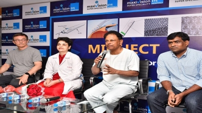 Maxivision super specialty eye hospitals unveil yet another breakthrough research in eye care