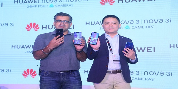 Huawei unveils the nova 3 & 3i in India, Smartphones Featuring AI Capabilities