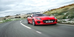 Jaguar F-Type Powered by Four-Cylinder Powertrain