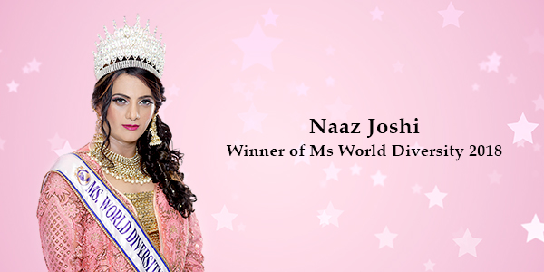 Naaz Joshi becomes first Indian Transsexual to win Ms World Diversity 2018