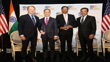 SpiceJet CMD Ajay Singh awarded USISPF Leadership Award