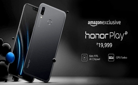Honor Play sold out on Amazon in just five minutes; next sale tomorrow