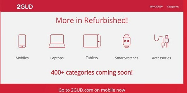 Platform for Refurbished Products Launched by Flipkart