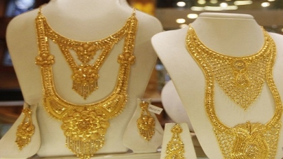 Amid Global Cues and Low Demand Gold Slips by Rs 100