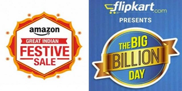 Flipkart and Amazon Gearing Up for Festive Season, Relying on Large Appliances