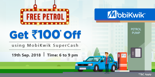MobiKwik Announces Flash Offer on Fuel, Save up to Rs 100 Today