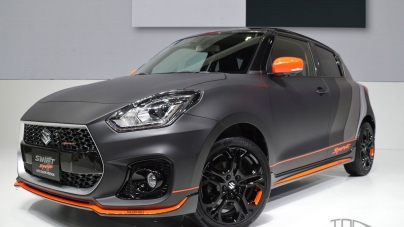 Auto: Swanky Swift Sport Displayed in Tokyo-Thailand
