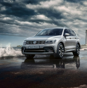Volkswagen rides high on Tiguan sales
