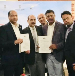 SRAM & MRAM GROUP INKS MOU WITH HIMACHAL PRADESH GOVERNMENT FOR ZERO EMISSION  AND CLEAN ENVIRONMENT