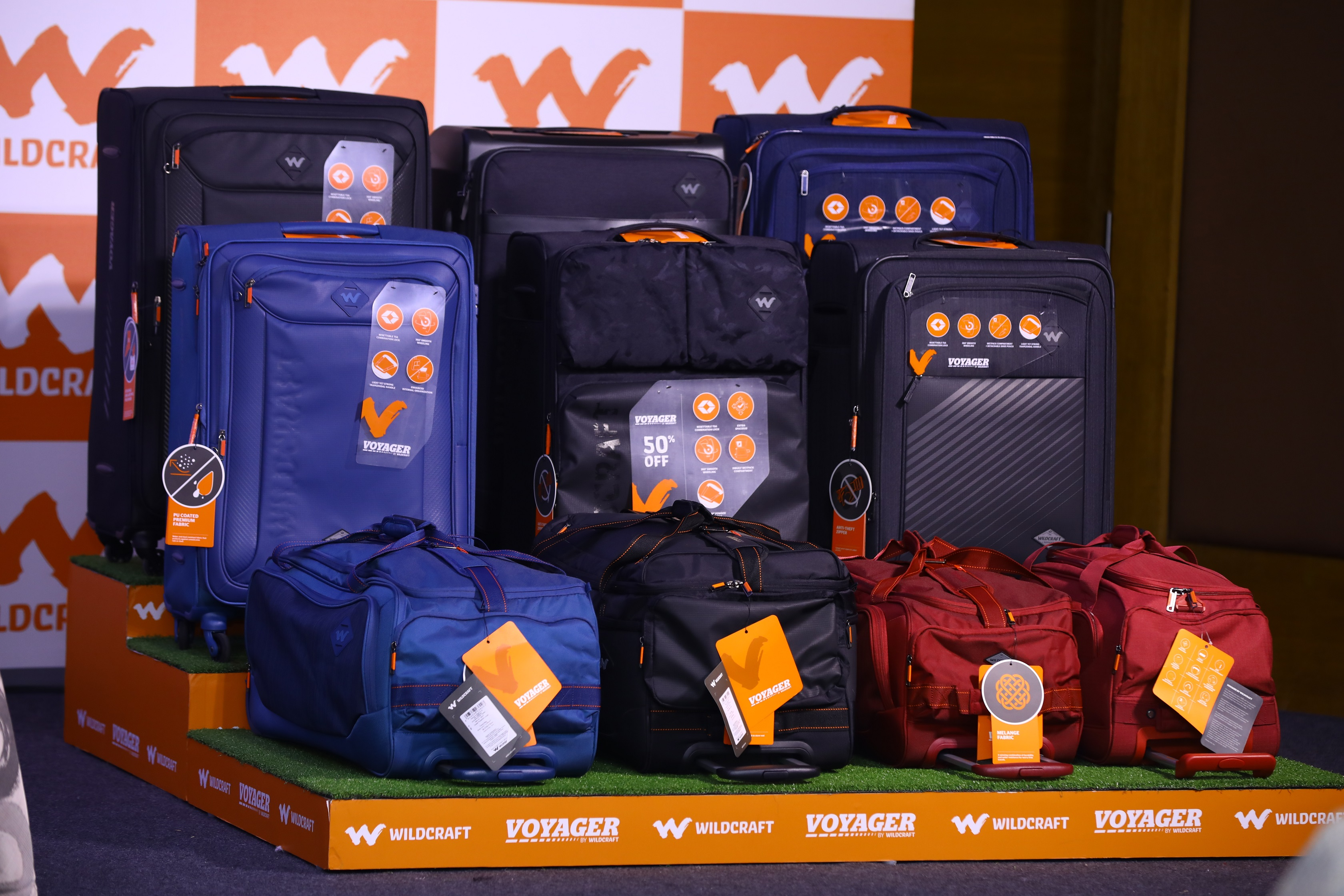 WILDCRAFT LAUNCHES NEW AGE DUFFEL TROLLEYS