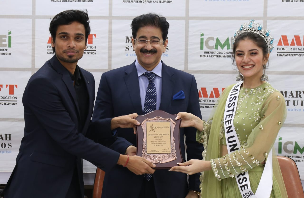 Marwah Studios has revitalized my education and Career said Delhi girl Vridhi Jain, Miss Teen Universe Asia