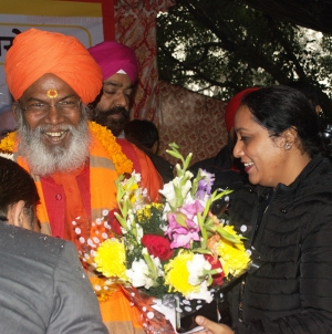 'CAA' will honour the helpless migrants: Sakshi Maharaj