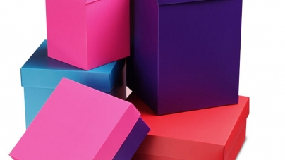 Elegant and Dazzling Colored Cardboard Boxes for Everyone