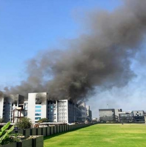 Fire breaks out at Serum Institute of India, 5 dead others rescued