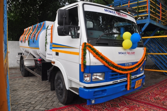 BPCL joins hand with Noida based fuel delivery Start-up M Fuel Kart for doorstep diesel delivery